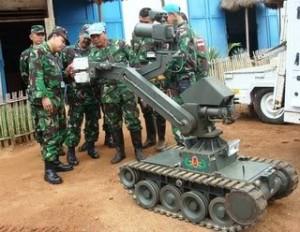 Robot Tempur Buatan Indonesia