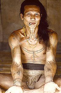 Ternyata Tato Tertua di Dunia di buat di Indonesia