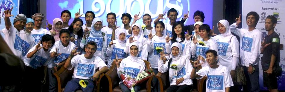 Lifetime achievement award dari kongres lupus internasional kanada