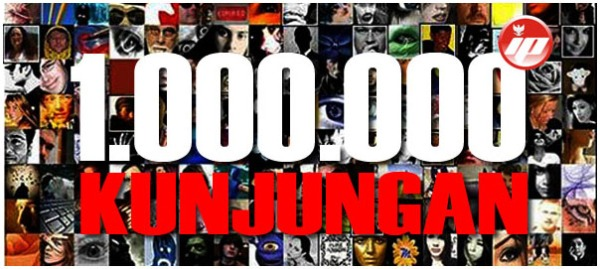 1.000.000 kunjungan indonesiaProud wordpress com