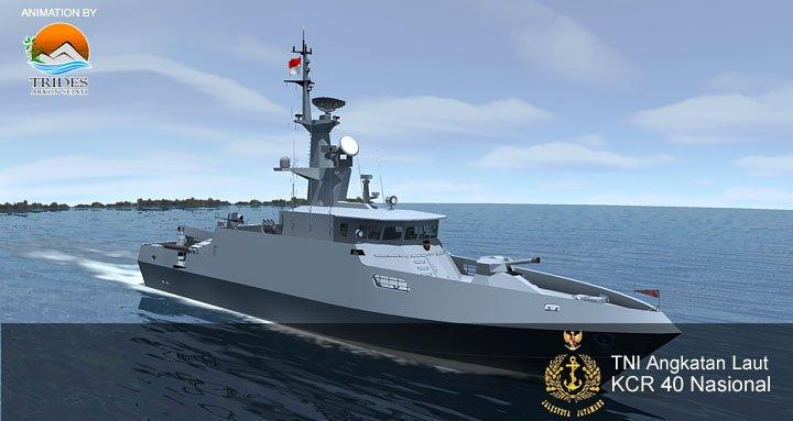 KCR-40 Clurit: Kapal Cepat Rudal Buatan Batam (1/2)