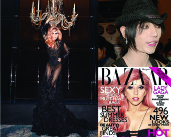 Gaun Karya Tex Saverio Dipakai Lady Gaga di Harper's Bazaar, AS (1/2)