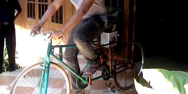 Median Wahyu Utomo: Pembuat Sepeda Pembangkit Listrik Dari Kendal