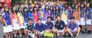 Batik Karya Siswa SMP Stella Duce 1 Yogyakarta Pecahkan Rekor MURI
