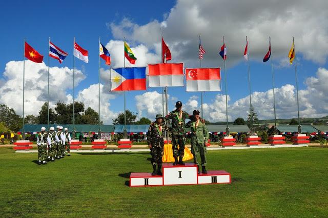TNI Kembali Menjadi Juara Umum Kejuaraan Menembak AARM ke-23 di Myanmar