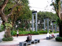 Taman Bungkul Surabaya di indonesiaproud wordpress com