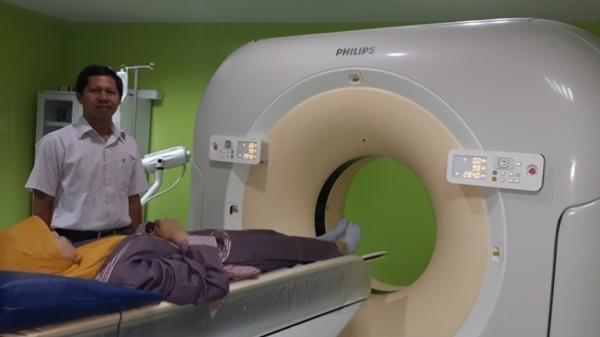 Persiapan pengukuran morfometeri sendi dengan CT scan