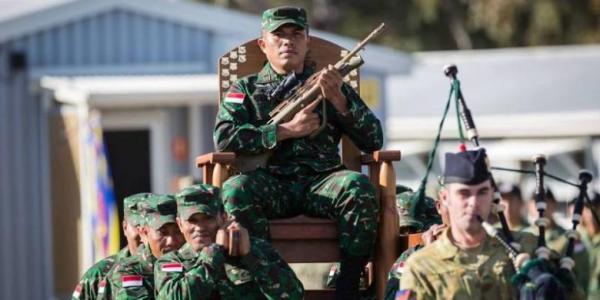 Letda Inf Poltak Siahaan, Prajurit Divisi Infanteri 1 Kostrad menjuarai lomba tembak perorangan di ajang Australian Army Skill and Arms Meeting (AASAM) 2016 di Puckapunyal Military Range, Victoria, Australia.
